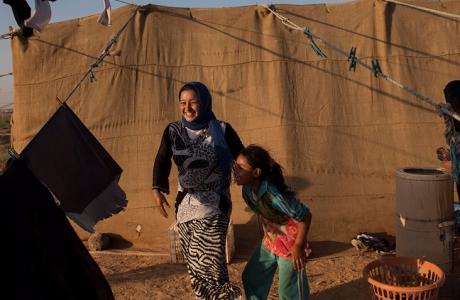 Những cô dâu trẻ con Syria trong trại tị nạn ở Jordan